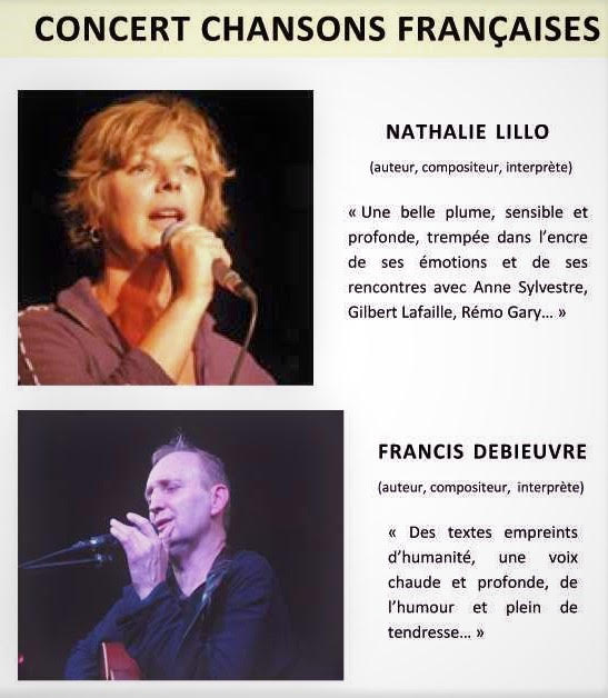 Nathalie Lillo and Francis Debrieuve